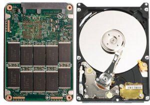 השוואת כוננים HDD לכונן SSD